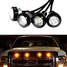 Ford Raptor Grill Lights - amazon com ijdmtoy 4pc ford raptor style 3000k amber led lighting