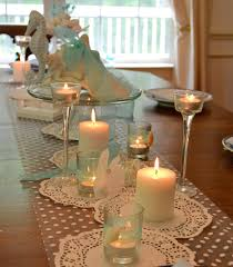 interior design awesome beach theme wedding table decorations