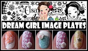 dream stamping nail art designs konad tutorial for short