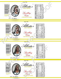 Wholesale Sparkling Cider Items Similar To Personalized Mini Sparkling Cider Bottle Labels