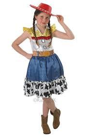 Cowgirl Halloween Costume Jessie Hat Toy Story Girls Fancy Dress Kids Cowgirl Disney