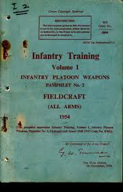 small arms training pamphlets and other weapons training and