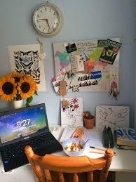 Indie Desk Inspiration Desk Room Art Hoe Light Indie Interior Image