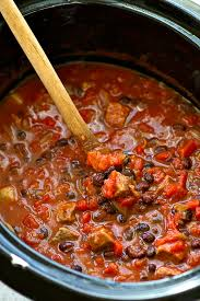 crockpot chipotle steak chili
