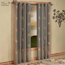 Sheer Grommet Curtains Islander Semi Sheer Grommet Curtain Panels By J Queen New York