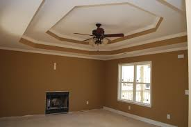 double step tray ceiling the color of the living room is benjamin