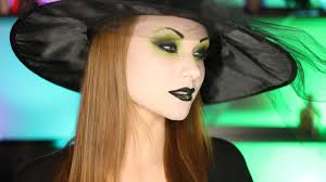 Cute Halloween Makeup Tutorial by Pretty Witch Makeup Tutorial Youtube