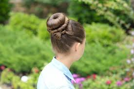 simple hairstyles with one elastic cute and easy gymnastics hairstyles nimble sports gymnastics