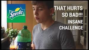 Does The Water Challenge Hurt Impossible Challenge Banana Sprite Orange Juice Milk My