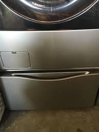 Kenmore Elite Washer Pedestal Sears Kenmore Elite Washer Gas Dryer Pedestals Set Fl Original