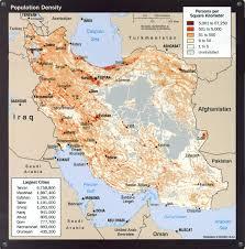 World Population Density Map Iran Population Density Map Iran U2022 Mappery