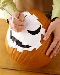 pumpkin writing paper template how to carve a pumpkin martha stewart transfer your design