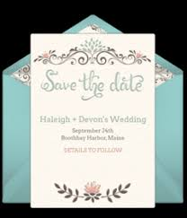 online save the date free wedding save the dates online punchbowl