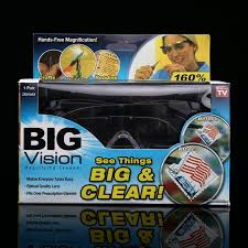 magnifying eyeglasses with light as seen on tv as seen on tv big vision 160 degrees magnifying glasses tvfire com