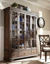 Klaussner Distinctions Curio Cabinet Decorating Accessories Exquisite White Drum Shade