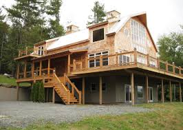 home plans with a view barn style house plans mytechref com