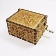 aliexpress com buy antique carved wooden harry potter music box
