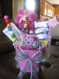 this is the inspiration for two gift basket ideas one is a make