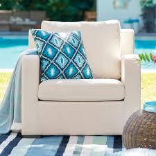 Grandin Road Outdoor Furniture by Glen Arbor Upholstered Outdoor Lounge Chair Grandin Road