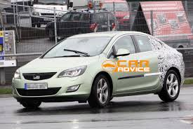 opel astra sedan spy shots photos 1 of 6