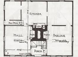 Georgian Mansion Floor Plans 18th Century Georgian House Plans House Plan