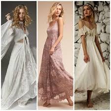 boheme chic mariage robes pour mariage bohème chic 20 modèles qui nous font craquer