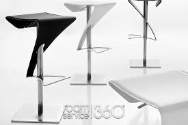 real leather bar stool by tonin casa room service 360