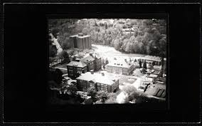 campus aerial view edgerly hall percival hall thompson hall