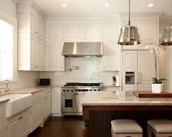 houzz kitchen backsplashes excellent white kitchen backsplash tile backsplash and white