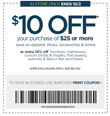 free is my life coupon 10 off a 25 in store purchase at