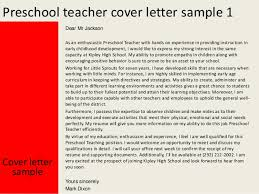 cover letters for new teachers amazing preschool teacher cover