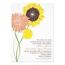 whimsical modern swirl flower tree wedding card the best