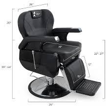 Reclining Salon Chairs Bellavie Hydraulic Barber Chair Reclining Salon Equipment Black