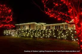 Christmas Decorations Ideas Outdoor Incredible Ideas Christmas Lights For Bushes Net And Tree Wraps