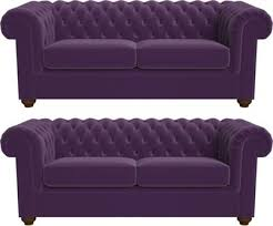 Purple Sofa Bed Purple Chesterfield Sofa Home Design Ideas And Pictures