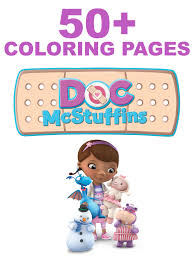 50 doc mcstuffins coloring pages dvd terrell family fun