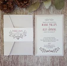 wedding invitations ebay autumn wedding invitations ebay