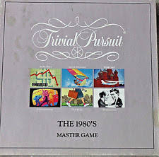 trivial pursuit 80s trivial pursuit the 1980s master brothers vintage ebay