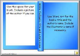 printable book template ks2 bfc png
