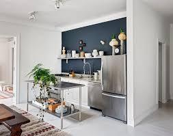 stainless steel island for kitchen kitchen small contemporary kitchen with stainless steel island
