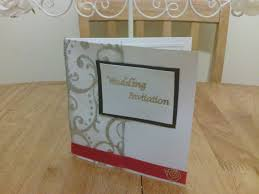 Silver Wedding Invitation Cards Make Your Own Wedding Invitations U2013 50 Silver Red White And