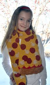 knitting pattern bacon scarf ravelry pepperoni pizza scarf pattern by twinkie chan
