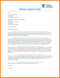 how to write an appeal letter for secondary admission