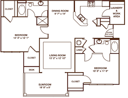 sunroom floor plans greystone summit apartments knoxville tn floor plans