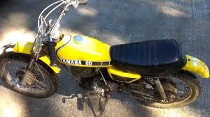 vintage yamaha motocross bikes 73 vintage yamaha gtmx 80 youtube