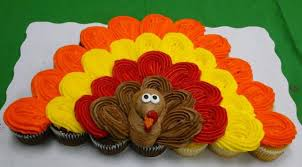 cupcake cake ideas thanksgiving turkey thanksgiving and cake