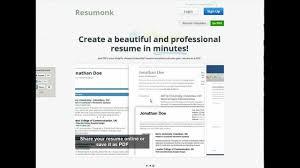resumonk beautiful resumes in minutes youtube mactrast deals the resumonk lifetime plan professional résumés