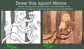 Slenderman Memes - slenderman x creeper redraw meme by anime greek on deviantart