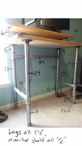 Diy Standup Desk Best Ideas About Diy Standing Desk 2017 With Stand Up Picture