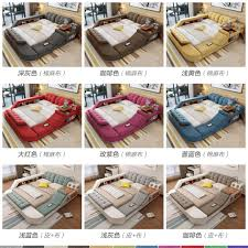 usd 593 42 massage bed tatami bed fabric bed double bed storage